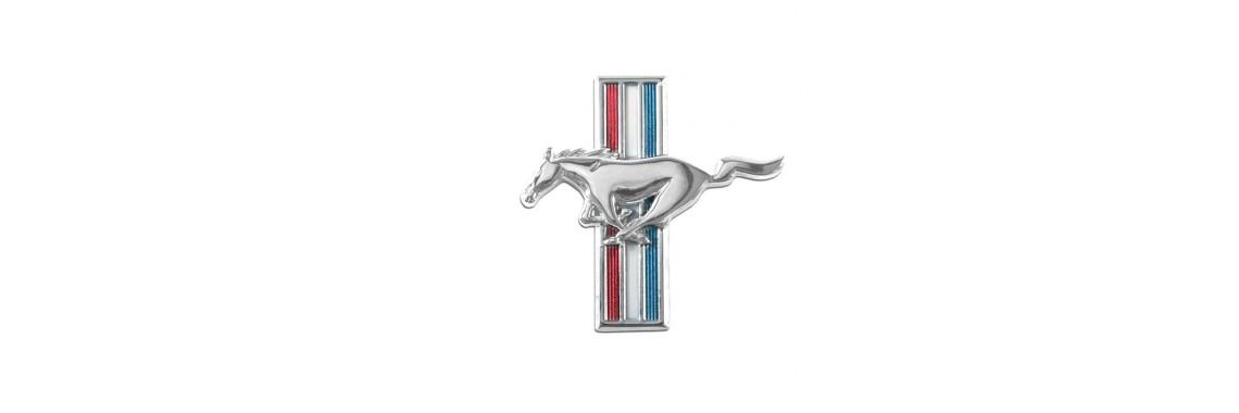 1964 - 1966 Mustang Running Horse Fender Emblem LH