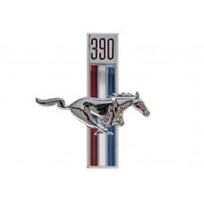 1967 - 1968 Running Horse 390 Fender Emblem RH