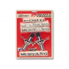 1967 302 Emblem Badge Kit
