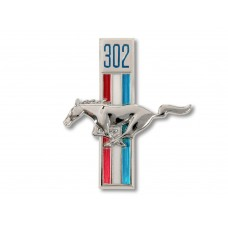 1968 302 Running Horse Fender Emblem LH